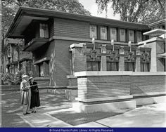 Meyer May House with Frank Lloyd Wright