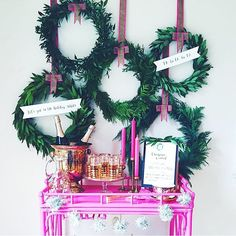 It's beginning to feel a lot like....  this set up via @domestikateblog