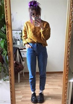 Mom jeans no inverno  10 produções para você se inspirar 1c8f96b4a0c