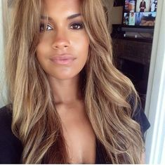 Black Coffee Hair With Ombre Highlights - 10 Cool Ideas of Coffee Brown Hair Color - The Trending Hairstyle Golden Brown Hair Color, Honey Brown Hair, Brown Hair With Blonde Highlights, Honey Blonde Hair, Chocolate Brown Hair, Light Brown Hair, Light Hair, Brown Hair Colors, Gold Brown Hair