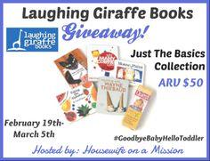 Laughing Giraffe Books Giveaway