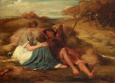 George Richmond - The Lovers or The Harvesters