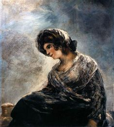 La lechera de Burdeos , 1825-1827 - Francisco de Goya