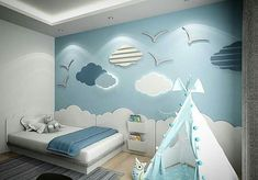 Kinderzimmer Dekorieren Ideen Spielzeug, Kinder & Baby The Effective Pictures We Offer You About baby room decor floral A quality picture … Baby Bedroom, Baby Boy Rooms, Baby Room Decor, Girls Bedroom, Nursery Decor, Bedroom Decor, Kids Rooms, Childrens Bedroom, Bedroom Themes