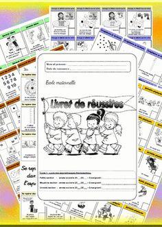 Notre livret de réussites : tout beau, tout chaud !!! Bulletins, Petite Section, Preschool, Appris, Notebook, Bullet Journal, Education, Mobiles, Montessori