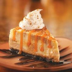 Deluxe Pumpkin Cheesecake Recipe from Taste of Home