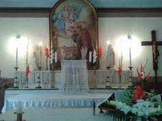 oltárdíszítés augusztus 20-ra