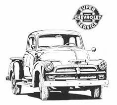 Kuvahaun tulos haulle 1954 chevy Suburban ad 1954 Chevy Truck, Chevy Trucks, Chevelle Ss, Adult Coloring Book Pages, Coloring Books, Classic Trucks, Classic Cars, Truck Quotes, Christmas Red Truck