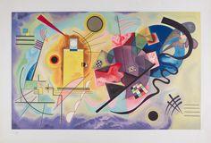 Vasili Kandinsky - Vasili Kandinsky SIN TÍTULO 1925, Soporte 44 x 62.5 cm, Reproducción, Colección INBA/MACG - Museo de Arte Carrillo Gil