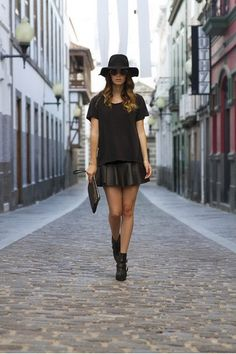 All black everything on #Fashiolista