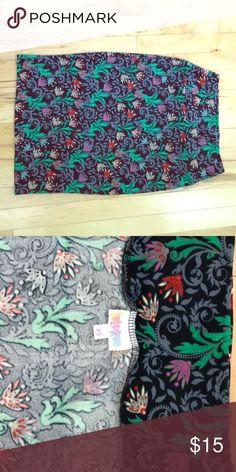 Lularoe Cassie Beautiful midi skirt. Worn twice. Great for spring LuLaRoe Skirts Midi