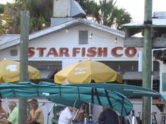 Starfish Company Restaurant, great outdoor dining Starfish Company Restaurant ~ Anna Maria Island information and area guide