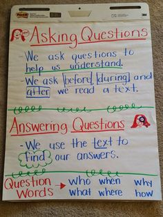 Ask and Answer Questions RL1
