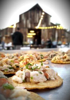 Our tangy and satisfying red snapper ceviche as served earlier this month at Greengate Ranch & Vineyard of #EdnaValley CA.  More: https://www.sohotaco.com/2015/11/23/tangy-satisfying-red-snapper-ceviche-as-served-at-greengate-ranch-vineyard #tacocatering #slo #greengateranch