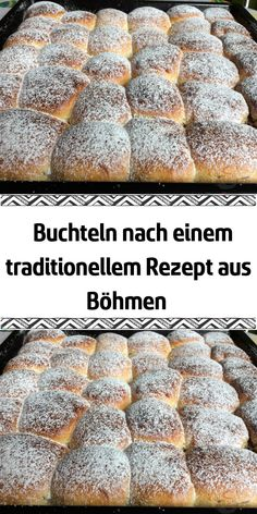 If I only make Buchteln according to this recipe – for about 20 years. I got the recipe from my mother who made the Buchteln with a lot of love. They are very airy and soft and taste very tasty. I filled them with curd cheese. Fluffy Pancakes, Banana Pancakes, Banana Bread, Omelette, Dessert Recipes, Desserts, Hamburger, Bakery, Food And Drink