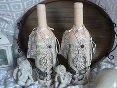 Dekoration  Tischdeko Vase  Vintage von Plan B auf DaWanda.com