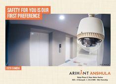 Arihant Anshula - Taloja Phase II 1, 2 & 3 BHK Mini Township  CCTV Camera  www.asl.net.in/arihant-anshula.html  #ArihantAnshula #RealEstate #Taloja #NaviMumbai #Property #LuxuryHomes