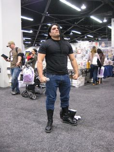 So much win, Nathan Explosion... Metalocalypse. View more EPIC cosplay at http://pinterest.com/SuburbanFandom/cosplay/
