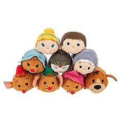 Disney - Cinderella ''Tsum Tsum'' Mini Plush Collection - Set of 9 - NEW. Fit all your fondest dreams in a pocket with our Cinderella ''Tsum Tsum'' Mini Plush Collection. Now you can find Disney's classic cast of fairytale friends in a soft stackable mini size!. Includes:. Cinderella ''Tsum Tsum'' Plush - Mini - 3 1/2'' Prince Charming ''Tsum Tsum'' Plush - Cinderella - Mini - 3 1/2'' Fairy Godmother ''Tsum Tsum'' Plush - Cinderella - Mini - 3 1/2'' Lucifer ''Tsum Tsum'' Plush - Cinderella…