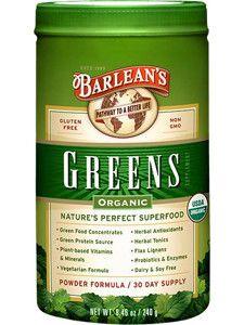 Barleans Organic Oils- Greens Powder 8.46 oz