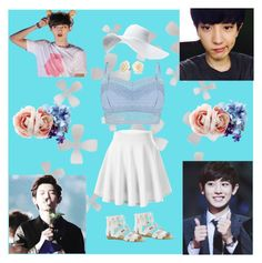 """""""Chanyeol """" by exo-kay on Polyvore featuring art"""