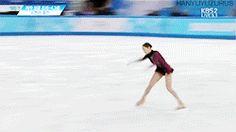Kim Yuna Ladies' Free Program Sochi 2014 - 3S