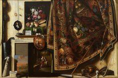 Cornelius Norbertus Gijsbrechts - Cabinet in the Artist's Studio