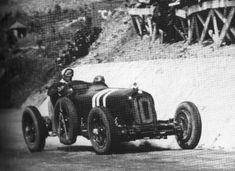1932 Targa Florio Tazio Nuvolari (Alfa Romeo 8c 2300) první 1