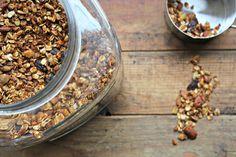 Wholehearted Eats : Recipe Index Plant Based Recipes, Raw Food Recipes, Cooking Recipes, Vegan Blogs, Raw Vegan, Granola, How To Dry Basil, Sugar Free, Nom Nom