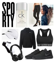 Untitled #27 by adekoooo on Polyvore featuring polyvore fashion style Björn Borg Free Press NIKE Calvin Klein Beats by Dr. Dre clothing