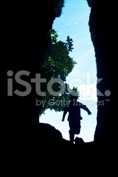 Child Running through Hole to Light and Stars royalty-free stock photo Royalty Free Images, Royalty Free Stock Photos, Soft Colors, Colours, Image Now, Filter, Pure Products, Running, Stars