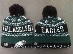 Philadelphia Eagles Beanies Caps Pom Knit Hats New Era