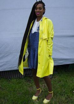 Solange Knowles - Street Style Glastonbury 2013
