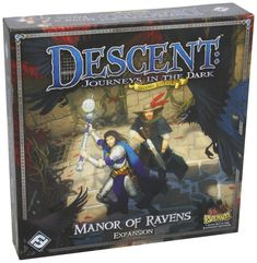 Descent: Journeys in the Dark 2nd Edition Manor of Ravens Expansion: Amazon.de: Spielzeug