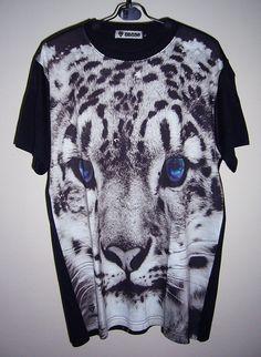 Items similar to Blue-Eye Leopard Shirt Tiger T-Shirt Tiger Shirt Animal  T-Shirt Men Shirt Women Tee Shirts Men Tshirt Unisex Tshirt M on Etsy e46a459ad5e4