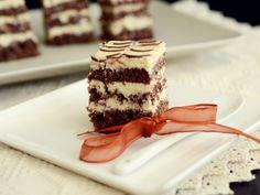 Romanian Food, Romanian Recipes, Food Cakes, No Bake Desserts, Tiramisu, Cake Recipes, Biscuits, Deserts, Cookies