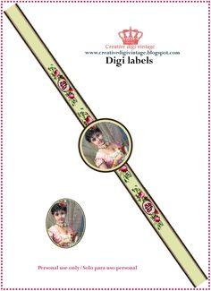 Creative digi vintage: DIGI VINTAGE LABELS