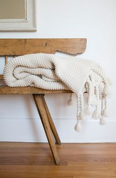 Pom Pom at Home Trestles Throw