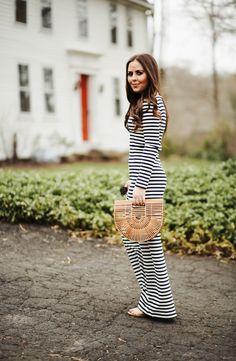 Striped Maxi Dress | Dress Corilynn