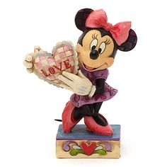 Jim Shore Traditions Minnie Mouse Love Figurine