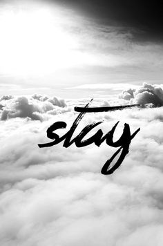 Stay above the clouds and you'll never have to look down. Go higher and higher!