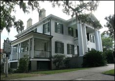 The Legacy of Plantation Culture (pictured: Knott House Museum in Tallahassee, Florida) - Few antebellum estates remain intact in 21st century Florida. Some of the grand homes that still stand serve as museums on the social, cultural, and environmental history of plantation life and work in Florida history.