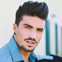 Europäische Männer s Frisuren