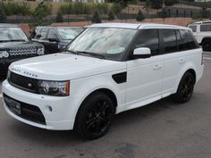 Not just any 2012 Range Rover - meet the Autobiography!  #blackonwhite #luxury #autobiography #exotic #unique