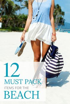 Beach Packing List | 12 Things You Don't Want to Forget! Great Tips and Tricks for Beach Vacations!