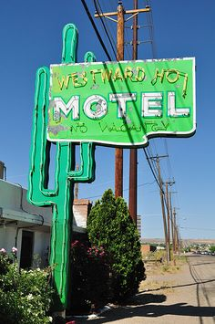 Route 66. Westward Ho Motel, New Mexico