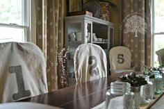 Chair Covers DIY-cottage in the oaks