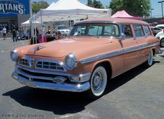 1955 Chrysler New Yorker Station Wagon - this is totally going to be our family car.