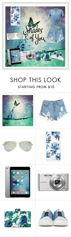 """""""Shades of You: Sunglass Hut Contest Entry"""" by queengrace2003 ❤ liked on Polyvore featuring Tiffany & Co., Sonix, Sony, Pierre Hardy, Miss Selfridge and shadesofyou"""