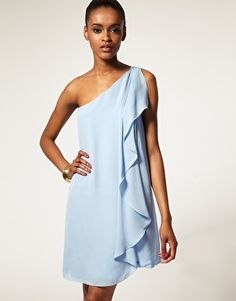 Halston Heritage: would make an elegant bridesmaid dress and it comes in different colours wonder how the drape would look? Alternative Bridesmaid Dresses, Elegant Bridesmaid Dresses, Halston Heritage, Satin Dresses, Asos Online Shopping, Latest Fashion Clothes, Women Wear, Cocktail, Colours